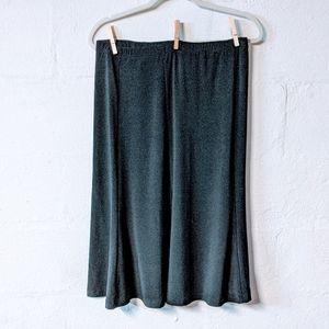 4/$25  Sag Harbor petite basic black skirt PM